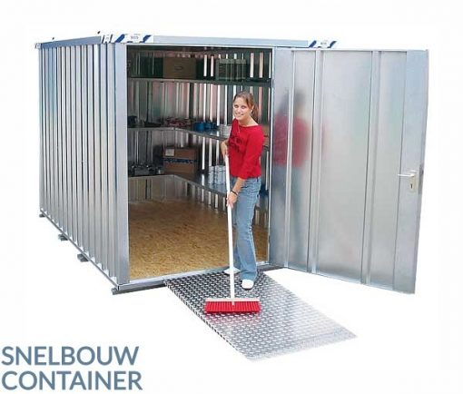 snelbouwcontainer