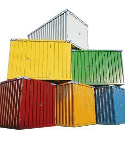Demontabele Snelbouw Container in Kleur 6x2 meter