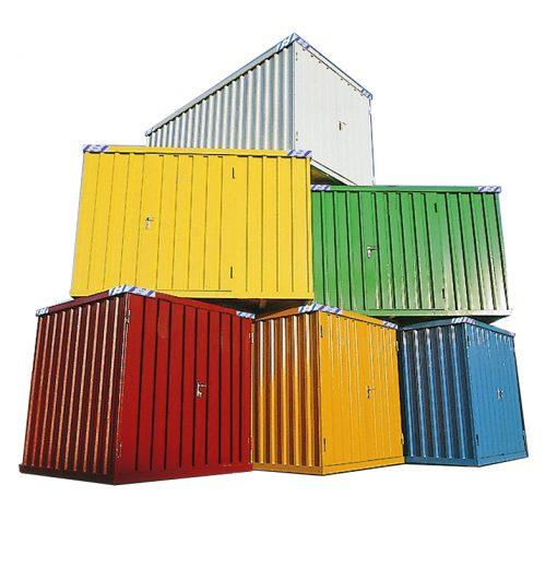 Snelbouw Container in kleur 2 x 1 meter