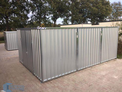Demontabele zeecontainer 4x6 met EDL materiaal is metaal van snelbouwcontainer