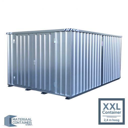Mobiele materiaalcontainer van metaal van snelbouwcontainer